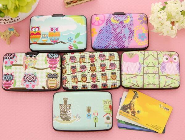 【TT172】韓國貓頭鷹風琴卡包超薄可愛多卡位元卡片包公交銀行卡套