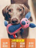 狗狗玩具發聲耐咬金毛拉布拉多大型犬泰迪幼犬小狗磨牙寵物狗用品