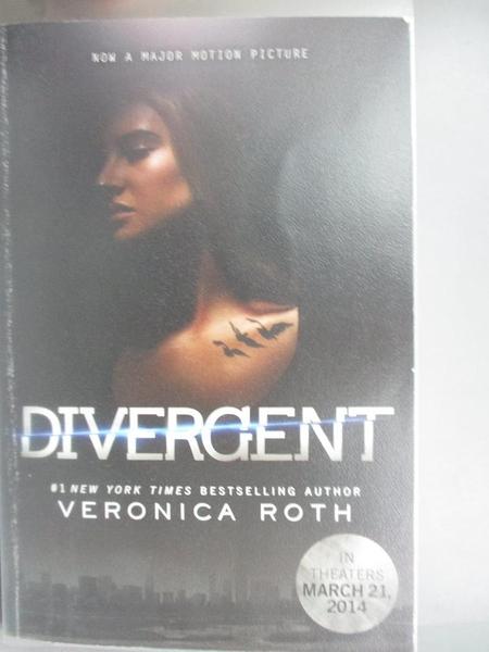 【書寶二手書T4/少年童書_C1B】Divergent_Roth, Veronica