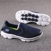 男鞋柱子底一腳蹬套腳鞋輕便舒適運動健走鞋戶外徒步鞋防滑 可可鞋櫃