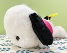 【震撼精品百貨】Pochacco 帕帢狗~三麗鷗帕帢狗 造型絨毛娃娃/玩偶-粉衣趴(S)*87554