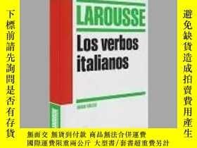 二手書博民逛書店Los罕見verbos italianos   Study Aid Italian verbsY405706