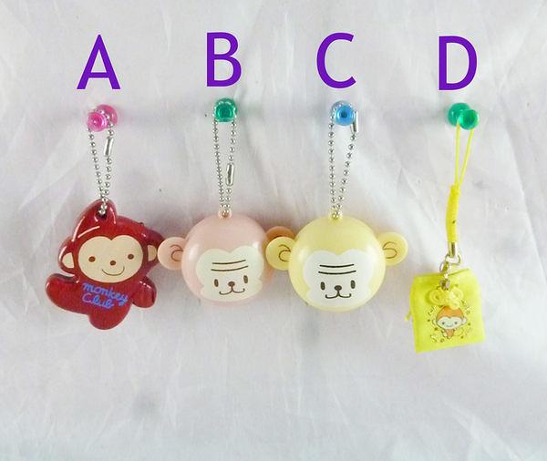 【震撼精品百貨】Monkey_猴子~良尺/鎖圈-紅/福袋吊飾【共4款】