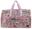 HAPI+TAS 摺疊大旅行袋 - 粉色旅遊景點