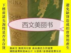 二手書博民逛書店【罕見】1894年版 《中國社會》Society in Chin