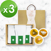 KOOS-綜合口味-蕎麥茶+桂花烏龍+金萱烏龍-禮盒組3盒(3袋1盒)