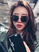 新款墨鏡女韓版潮太陽鏡眼鏡圓臉防紫外線復古原宿風Mandyc
