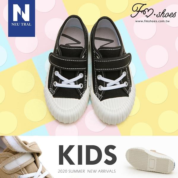 休閒鞋.奶茶色防潑水餅乾鞋(黑)-KID-FM時尚美鞋-NeuTral.Refresh