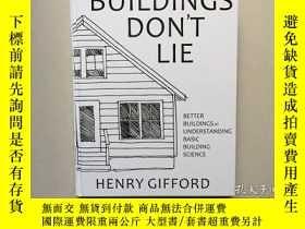 二手書博民逛書店Buildings罕見Don t Lie(英文原版,硬精裝銅版紙