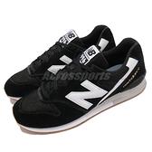 New Balance 休閒鞋 996 黑 白 男鞋 麂皮設計 金標 復古 NB 紐巴倫【ACS】 CM996CPGD