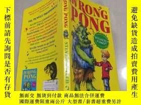 二手書博民逛書店THE罕見WRONG PONG錯誤的乒乓球Y212829