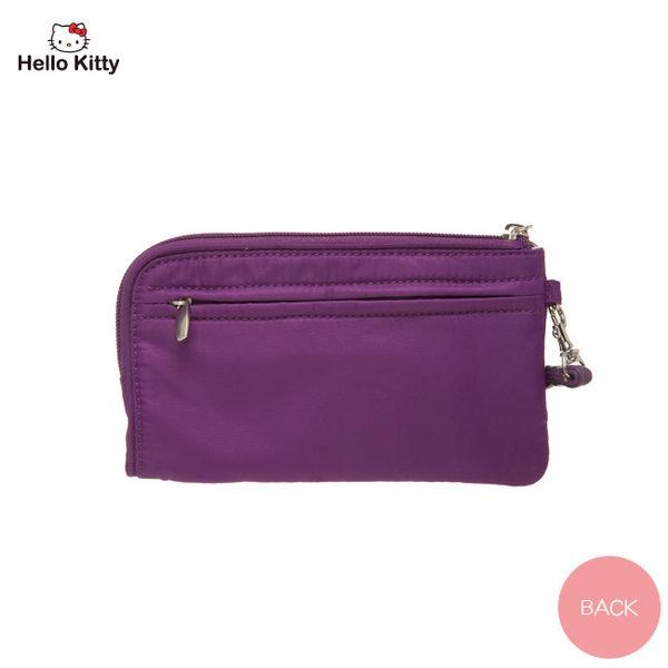 Hello Kitty -  圓舞曲-手拿包/手機包 (紫色)