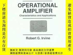 二手書博民逛書店Operational罕見Amplifier: Characteristics And Applications-