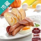 台畜德式香腸-原味400g【愛買冷藏】