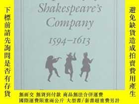 二手書博民逛書店The罕見Repertory Of Shakespeare s Company 1594-1613Y46634