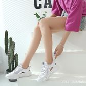大尺碼女鞋35-43碼小熊運動涼鞋夏季鏤空韓版透氣41休閒老爹鞋42DC2126【Pink中大尺碼】