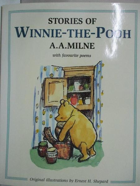 【書寶二手書T1/少年童書_J97】Stories of Winnie-the-Pooh Together with Favourite Poems
