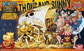 組裝模型 ONE PIECE 海賊王航海王 劇場版GOLD 公開紀念式樣 千陽號 GRAND SHIP COLLECTION TOYeGO 玩具e哥