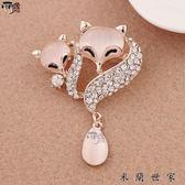 時尚韓版珍珠胸針女別針