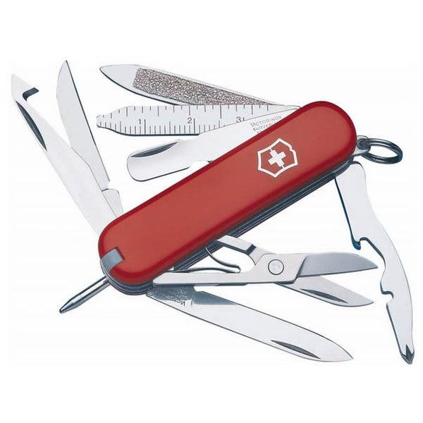 瑞士 維氏 Victorinox MiniCHAMP 迷你冠軍 16用瑞士刀 0.6385  露營│登山