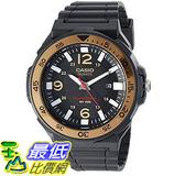 [美國直購] 手錶 Casio Men s Solar Powered Quartz Resin Automatic Watch Black MRWS310H-9BV
