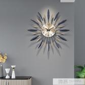 鐘錶掛鐘客廳創意現代簡約時鐘個性大氣家用時尚裝飾藝術北歐掛鐘