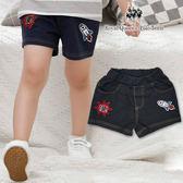 男童火箭圖案仿牛仔棉短褲 [85465]RQ POLO 小童 5-15碼 春夏 褲子 現貨