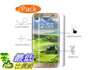 [105美國直購] 螢幕保護膜 Galaxy S7 Edge Screen Protector 2-Pack Full Coverage Galaxy S7 Edge Screen Protector 5163041