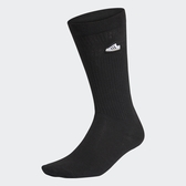 J- adidas SUPER SOCKS 黑 小logo 中筒襪 黑色 電繡LOGO 基本 好搭 FM0719