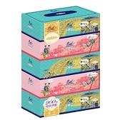 春風盒裝面紙200抽x5盒【愛買】
