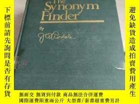 二手書博民逛書店THE罕見SYNONYM FINDERY270289