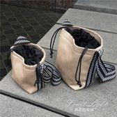 草編包 草編包斜背包包女水桶包復古單肩藤編包寬肩帶編織包 果果輕時尚
