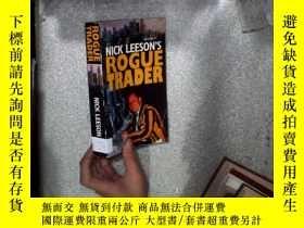 二手書博民逛書店NICK罕見LEESON S ROGUE TRADER 尼克·利