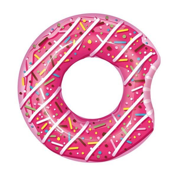 [衣林時尚]Bestway 草莓甜甜圈泳圈 42吋 建議12歲以上