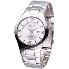 TITUS 鐵達時 紳士時尚腕錶-黑 06-1808-001