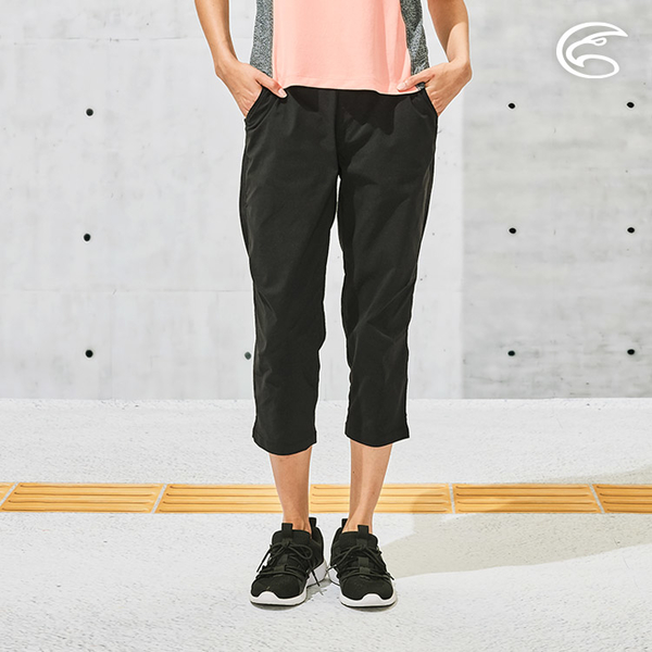 ADISI 女SUPPLEX彈性吸排修身八分褲AP2111158 (S-XL) / 防曬 吸濕 速乾 輕薄 休閒褲