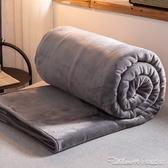 珊瑚絨毛毯加厚冬季保暖法蘭絨毯子午睡墊床學生宿舍床單人小被子YYJ 快速出貨