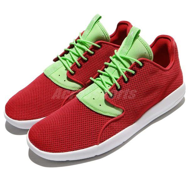 【五折特賣】Nike 休閒鞋 Jordan Eclipse 紅 綠 白底 HARE 喬丹 運動鞋 低筒 男鞋【PUMP306】 724010-607