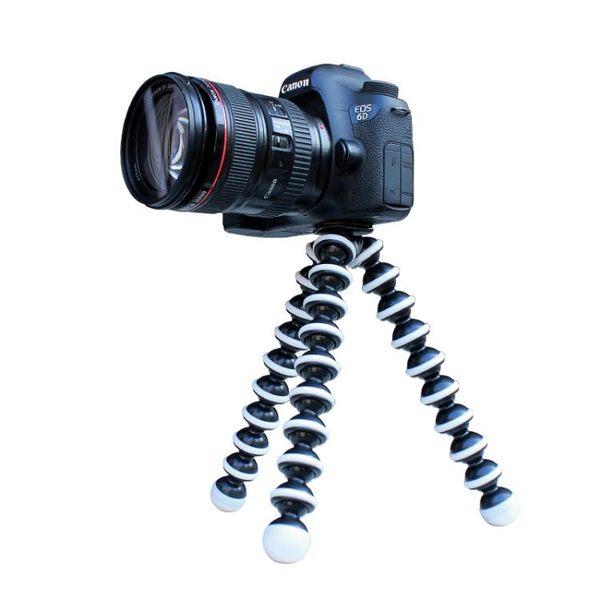大號八爪魚三腳架便攜單眼章魚架手機卡片機微單相機架直播支架【全館免運】