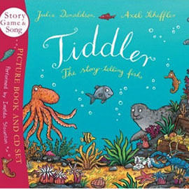 【麥克書店】TIDDLER: THE STORY-TELLING FISH /英文繪本附《幽默》