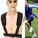 跑步抗阻力訓練帶.加重負重訓練帶.加速度練習拉力帶拉力繩.健身雪橇背帶雪橇帶.負重背帶配件