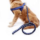 帶背胸狗繩狗 子金毛薩摩耶泰迪寵物用品牽引繩遛狗繩 【快速出貨八五折鉅惠】