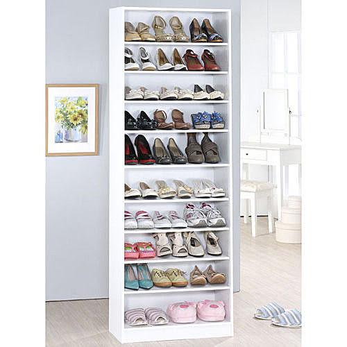 《百嘉美》H-新時尚白十層鞋櫃(高180公分) 鞋架 書櫃 置物櫃 斗櫃 收納櫃