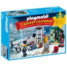 聖誕禮物 playmobil 驚喜月曆 警察系列_PM09007