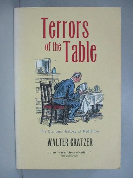 【書寶二手書T2/原文小說_IDA】Terrors of the Table: The Curious History