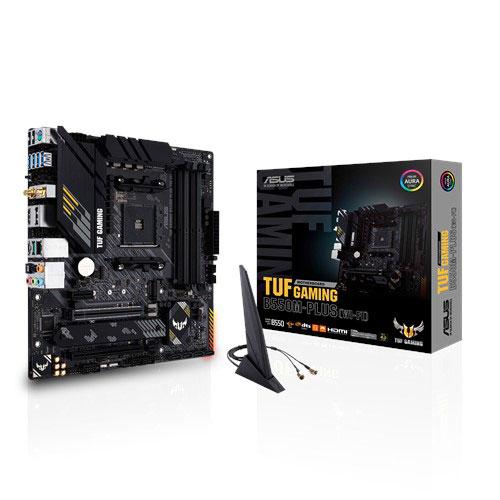ASUS華碩 TUF GAMING B550M-PLUS (WI-FI) AMD 第3代 Ryzen LGA AM4腳位 m-ATX 主機板