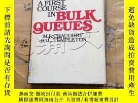 二手書博民逛書店A罕見first course in bulk queuesY1