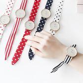 手錶—韓版時尚簡約潮流手錶學生小清新女士腕錶布帶綁帶石英錶女錶 依夏嚴選