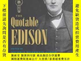 二手書博民逛書店The罕見Quotable EdisonY255562 Ms.