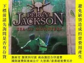 二手書博民逛書店PERCY罕見JACKSON AND THE SEA OF MONSTERSY214704 Rick Rior